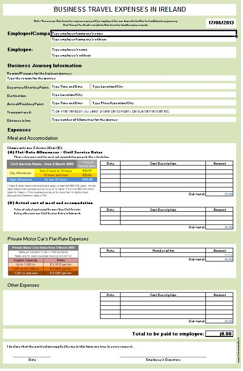 business planning taxation notes ireland